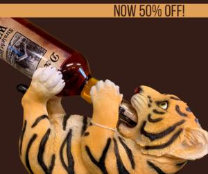 GREAT ONLINE SALE PRICE!  Tiger  Bottle Holder $14.48 (originally $28.95)